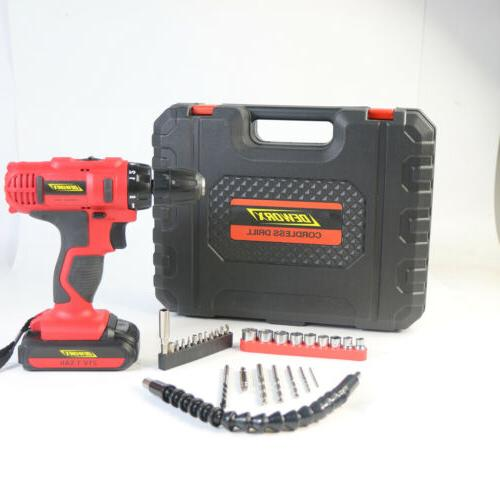 21V Cordless 1500mAh Spare Charg 29PC Kit DIY Tool