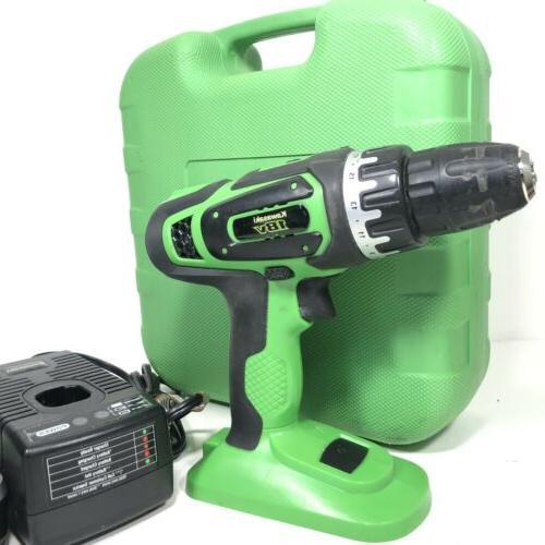 Kawasaki Volt Power Drill Battery & Case 691755