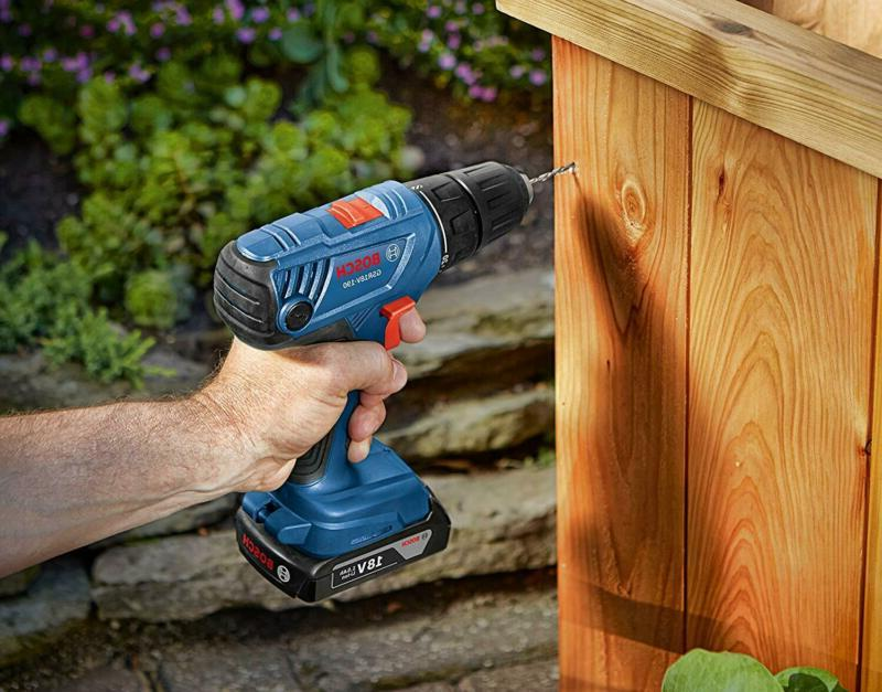 Bosch Drill/Driver with Ah Slim Pack Batteries GSR1