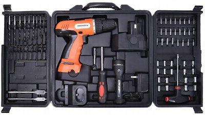 Goplus 18V Drill Driver with 16 Keyless Torque