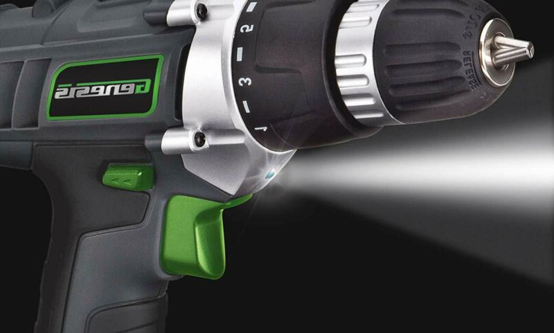 18V Cordless Electric Drill Kit Portable Tool