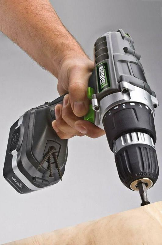 18V Rechargeable Drill Kit Portable