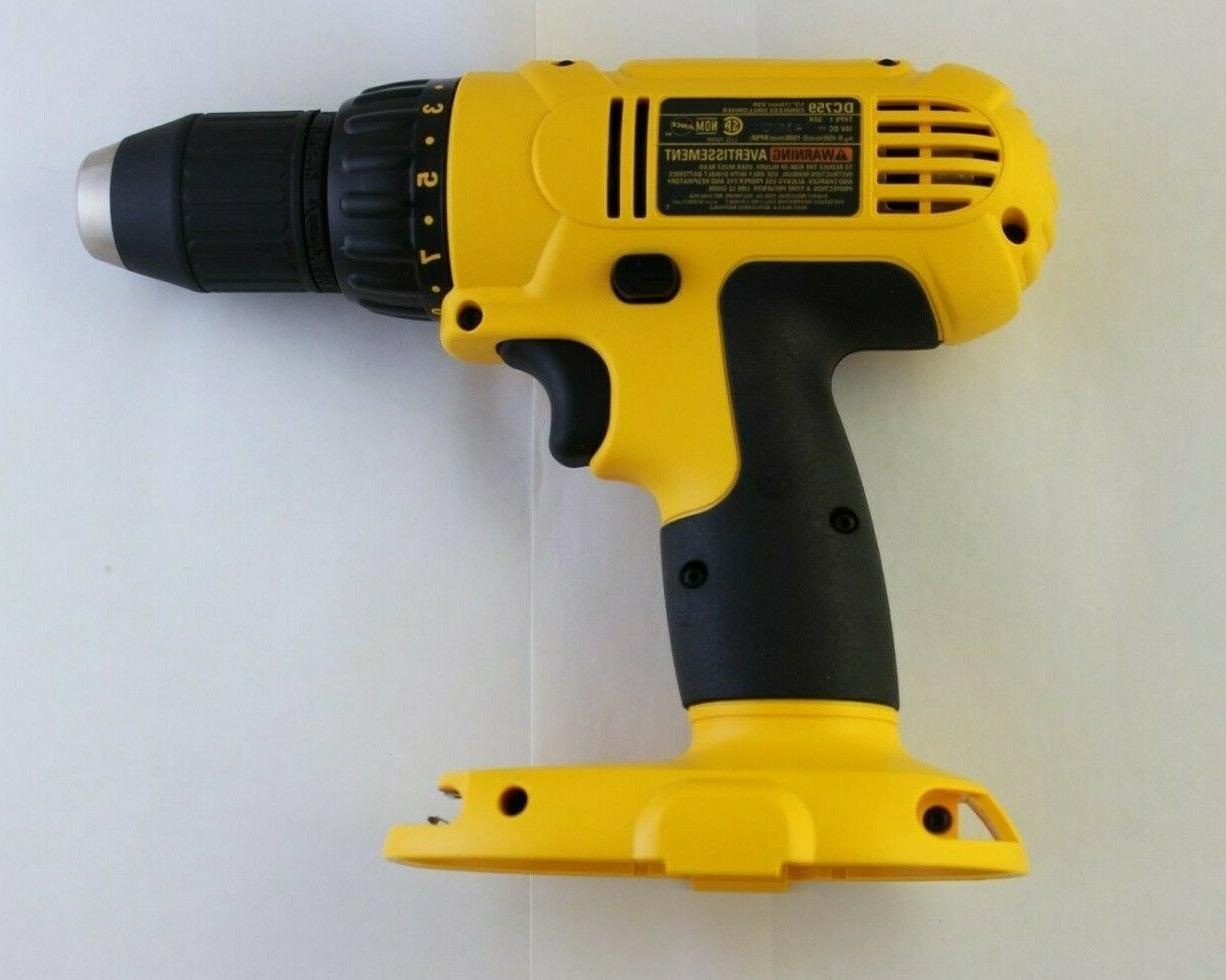 "Dewalt 1/2"" DRILL no battery bare tool USA"