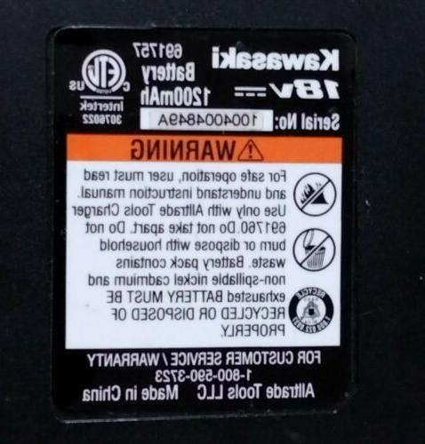 Kawasaki Battery Charger Set -