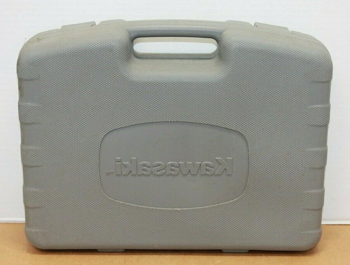 Kawasaki 19.2 Cordless Set Case & Drill Tested