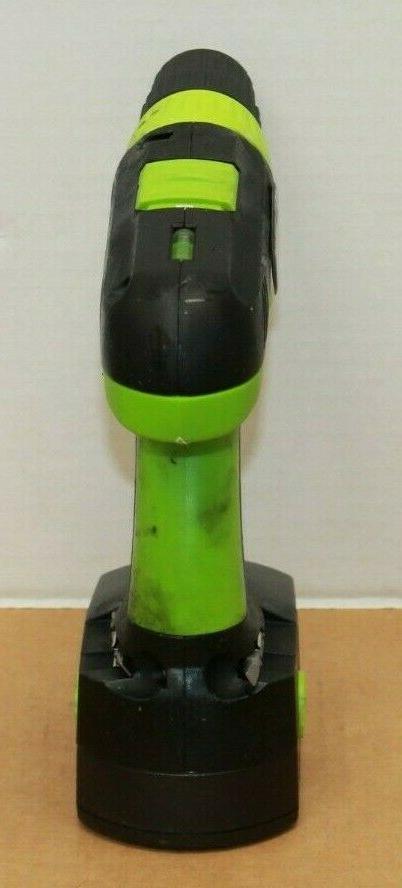 Kawasaki 19.2 Cordless Set Charger Batteries Case Drill Works