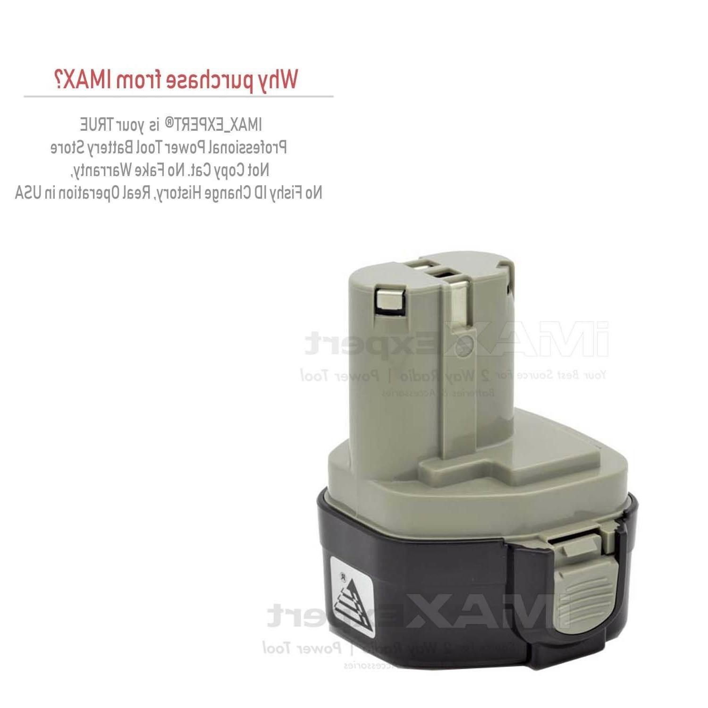 2 3.0AH Battery MAKITA 1233 1234 Volt Cordless