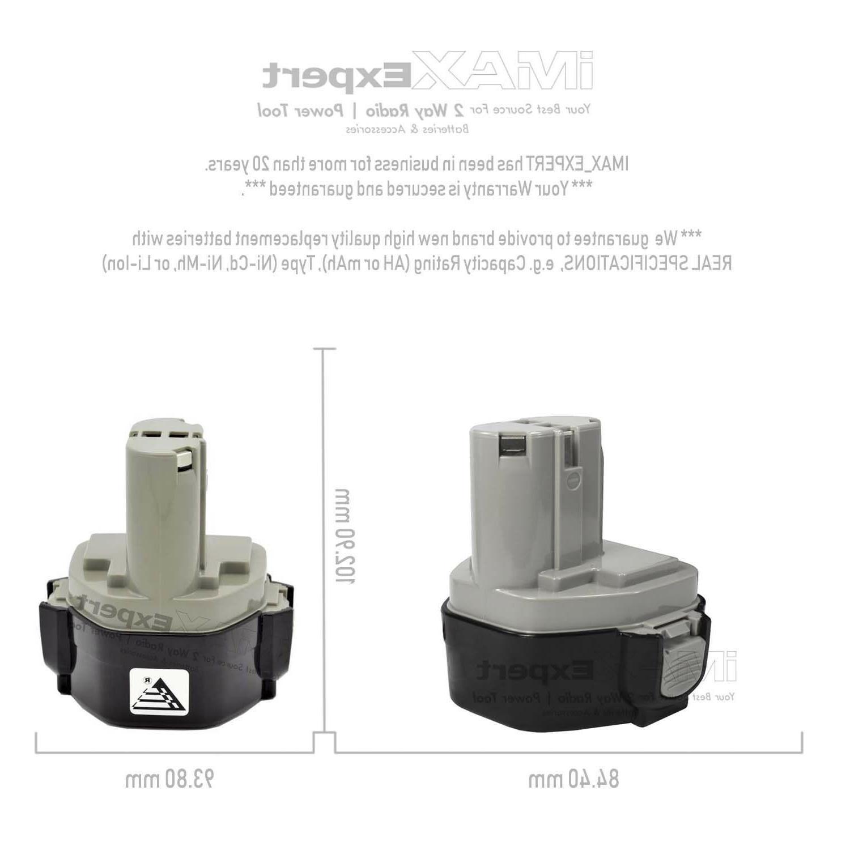 2 Extended 3.0AH Battery MAKITA 1234 Volt Drill