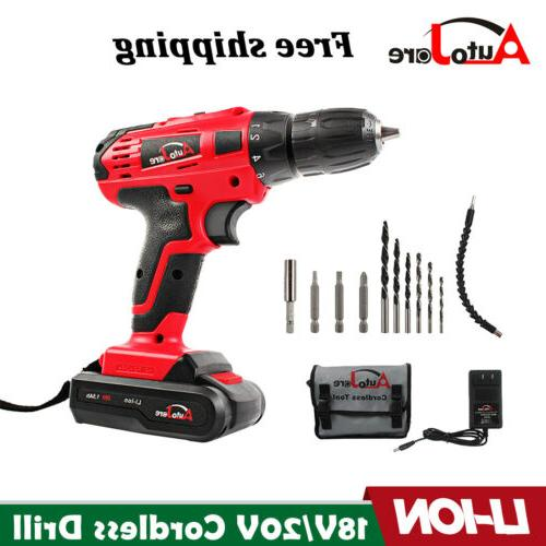 20 volt drill 2 speed electric cordless