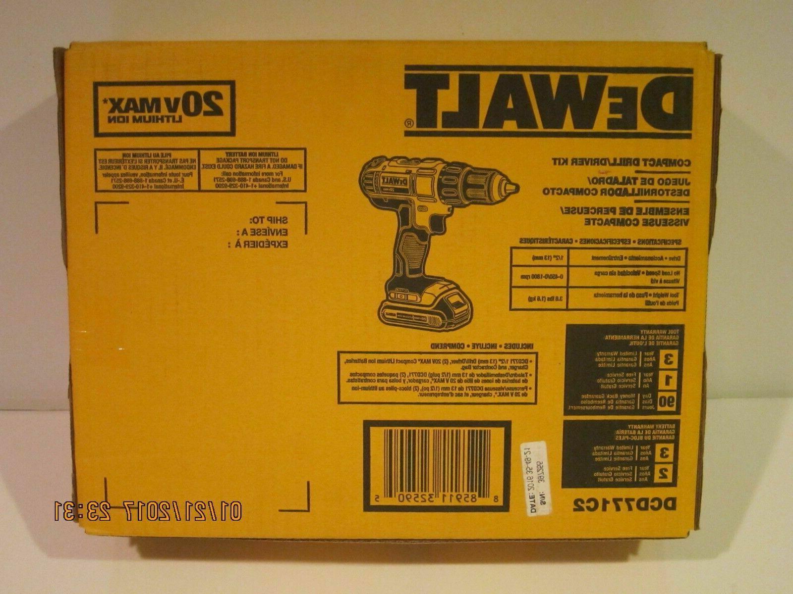 "DEWALT 1/2"" Lithium Ion Cordless Brushless Batteries"
