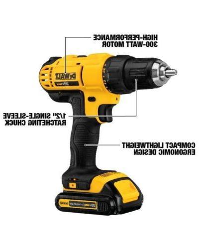 DEWALT Cordless 1/2 in. Drill/Driver Kit
