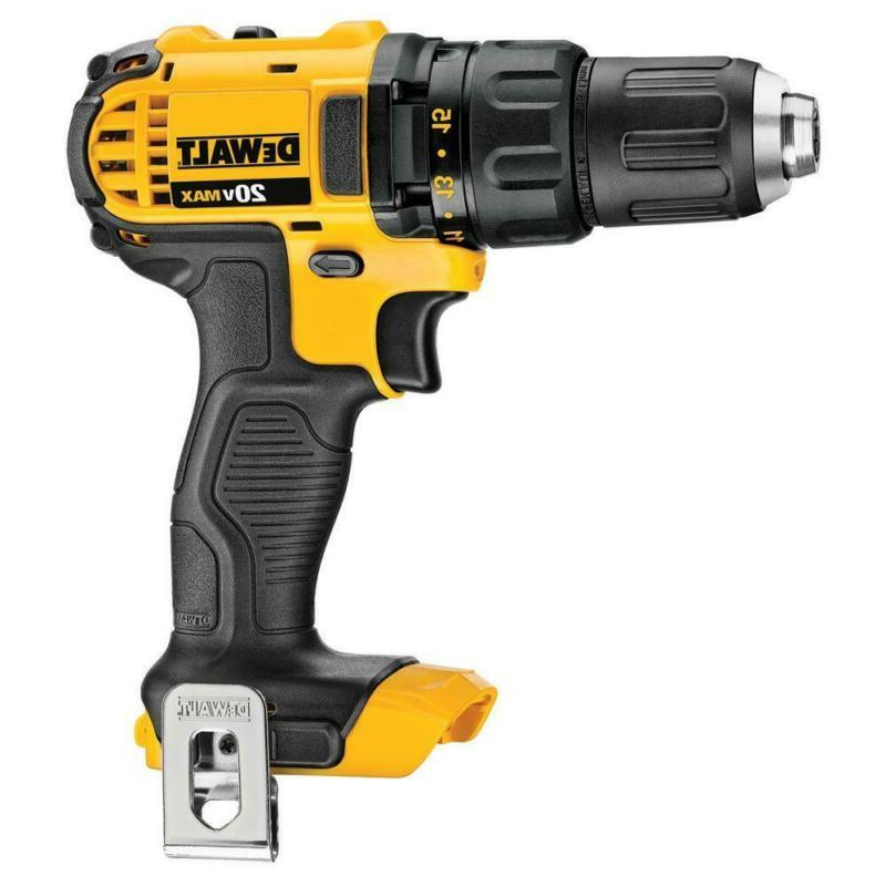 20-Volt Max Lithium-Ion Drill/Impact Combo Kit With Batter