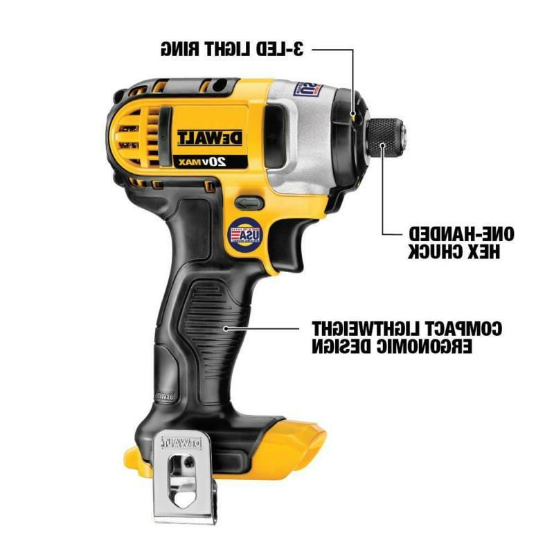 20-Volt Max Drill/Impact With Batter
