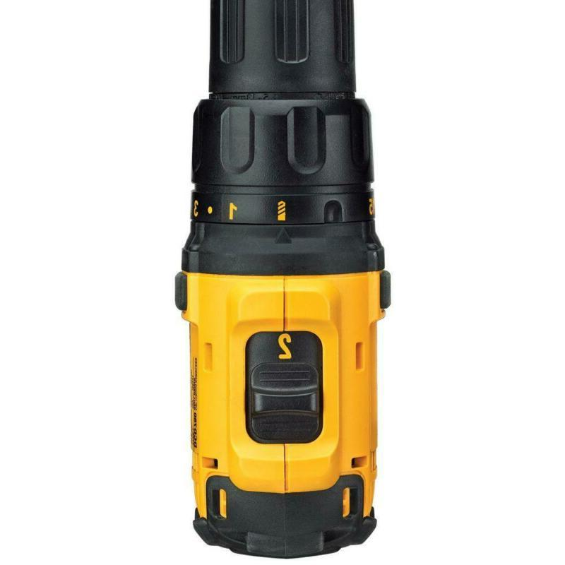 20-Volt Drill/Impact Combo With Batter