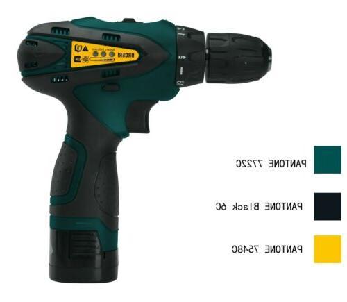 2000mAh Drill Kit Keyless Clutch