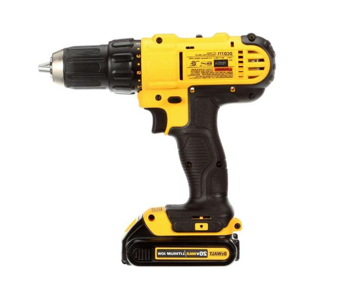 DEWALT DRILL/DRIVER W/FREE VOLT AND CHARGER