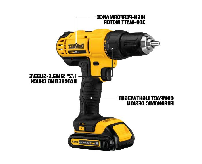 DEWALT 1/2in AND