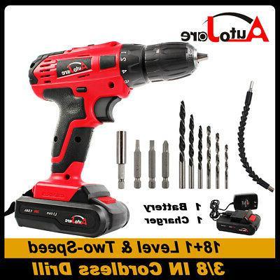 20v 18v cordless drill driver power tool