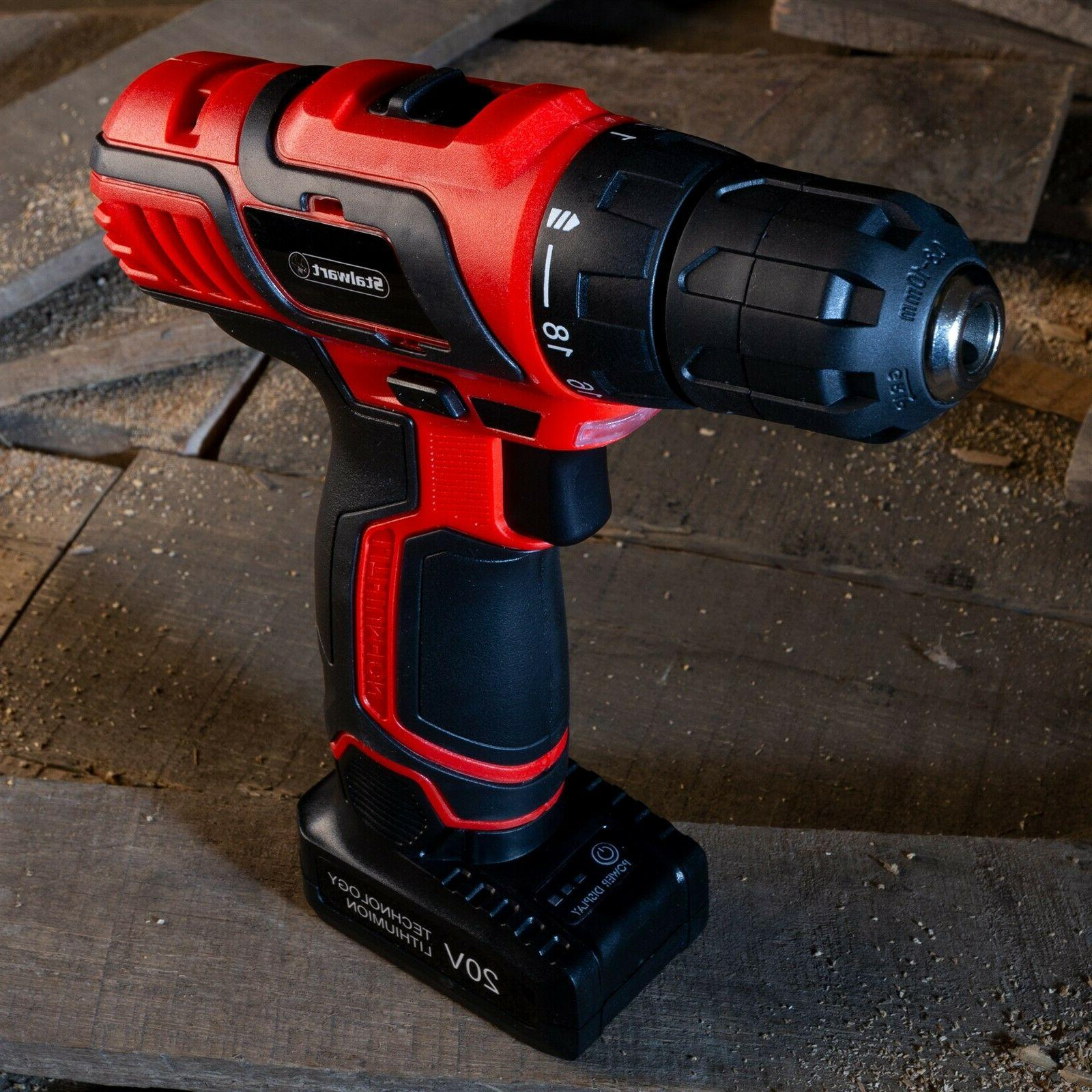 20V Drill Tool Bag Car Trunk Garage Handy Man Set