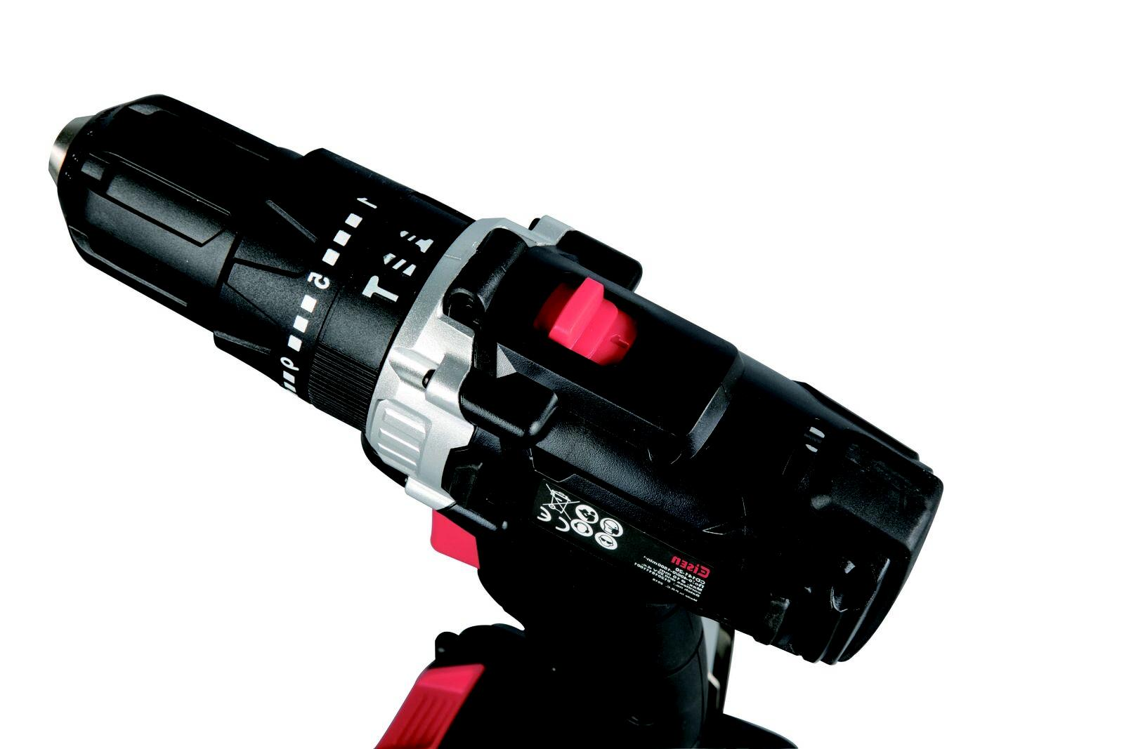 US Cordless Impact Drill 2-Speed 21+1 Position Keyless Clutch