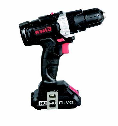 20v cordless impact drill screwdrive bit nut