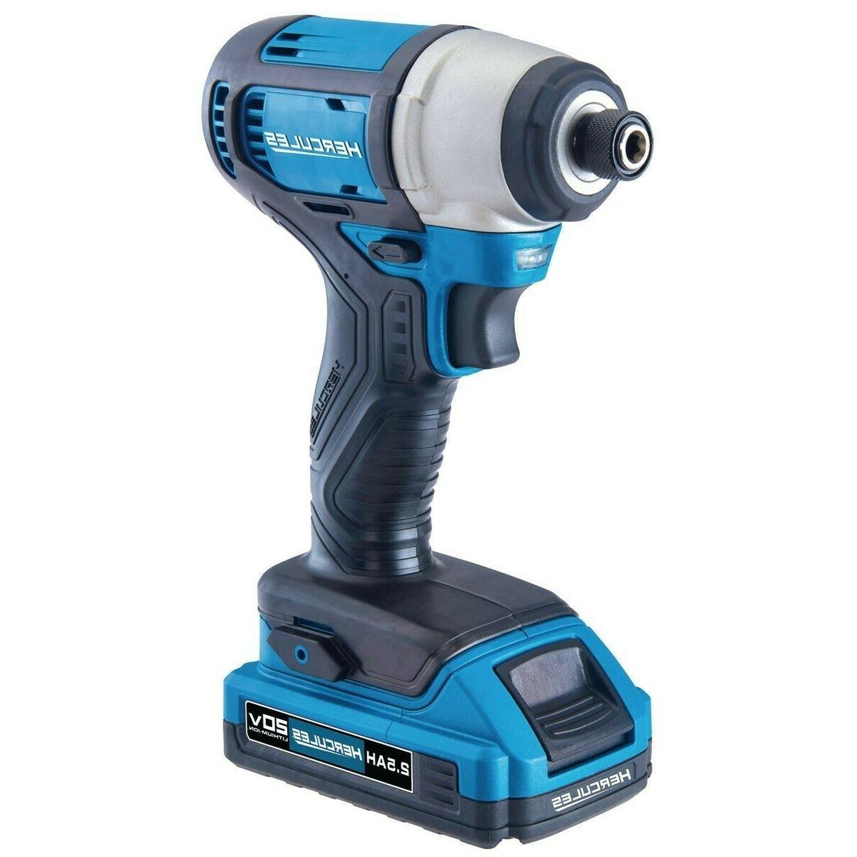 20V Cordless in Hex Compact Driver Wood Drywall