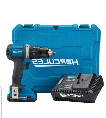20v lithium cordless compact hammer drill driver