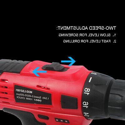 20V Cordless Tool Li-Ion