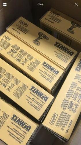 """DEWALT MAX 1/2"""" Compact Driver Kit DCD771C2 Free"""