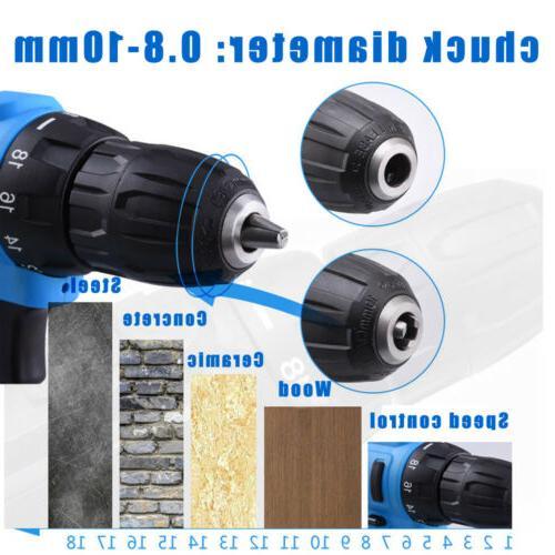 21-Volt drill Electric