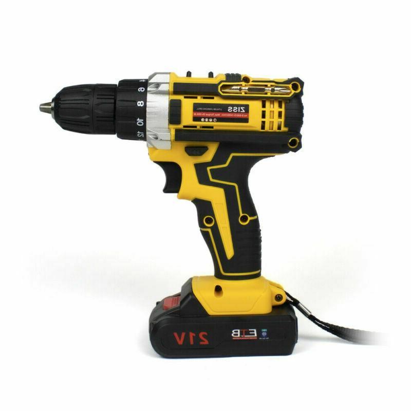 21-Volt Electric Drill Driver &