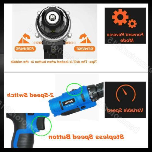 Portable Cordless Drill Repair