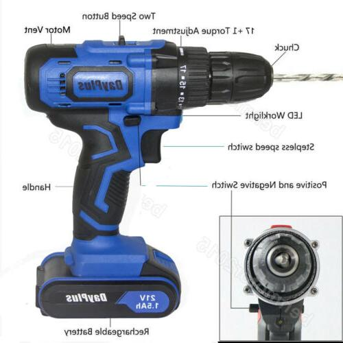 Cordless Drill Rechargeable Battery