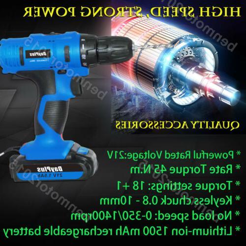 21-Volt Electric Driver & Battery