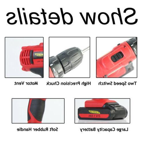 21V Mini Drill