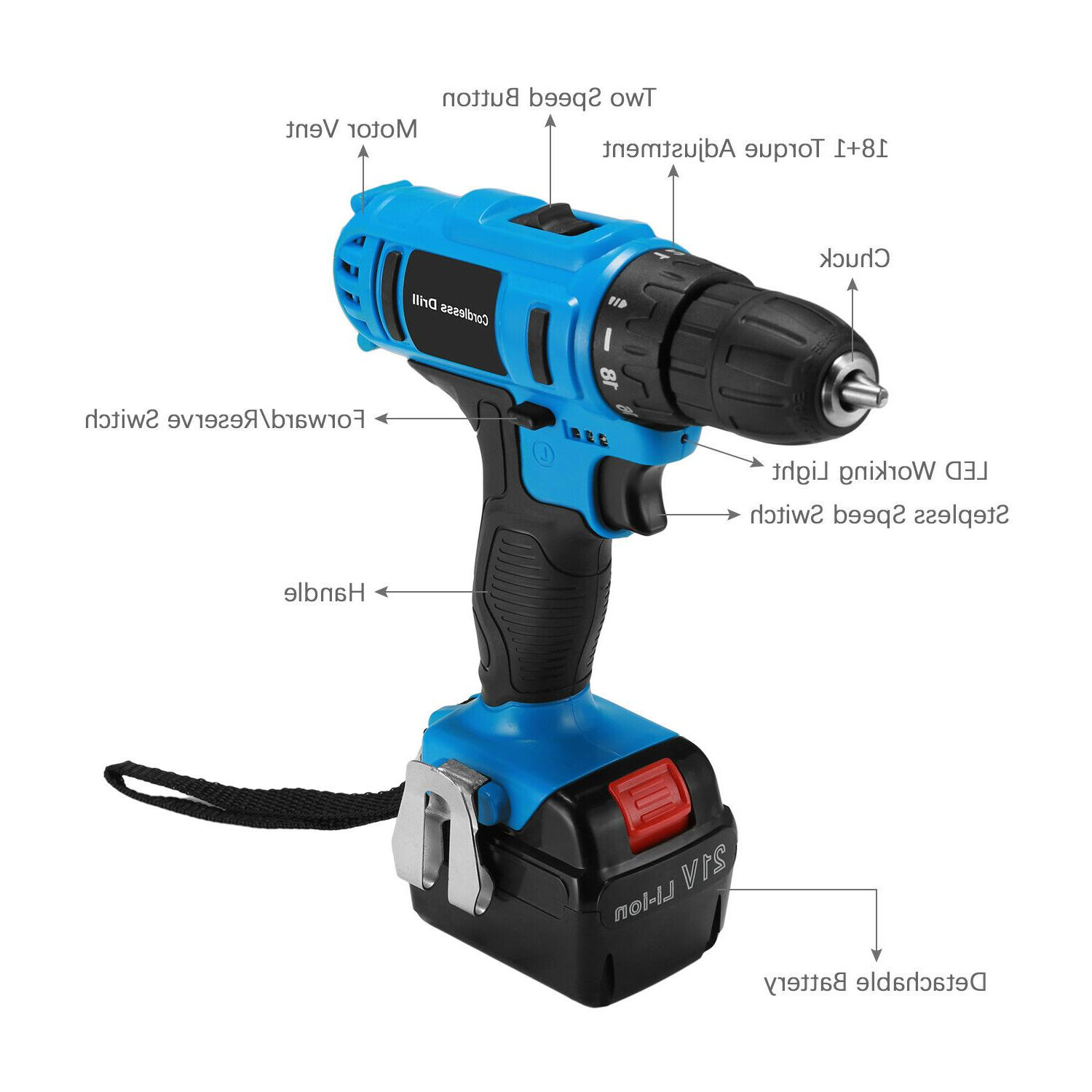 21V Drill Kit Drill Charger battery