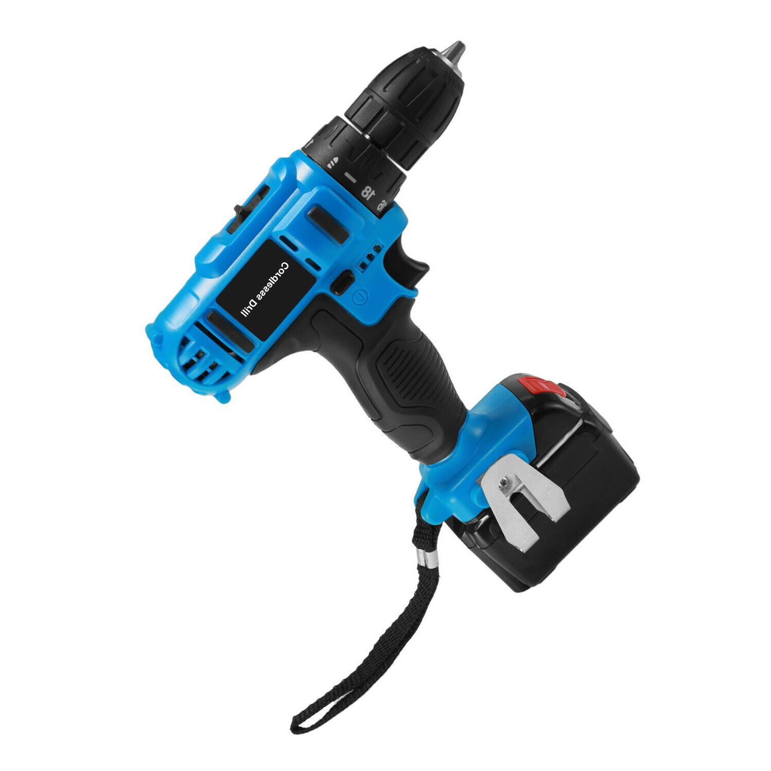 21V Drill Kit Driver Charger battery