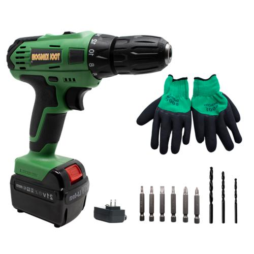"""21V Lithium Cordless Drill Set with 1/2"""" Chuck Variable Spee"""