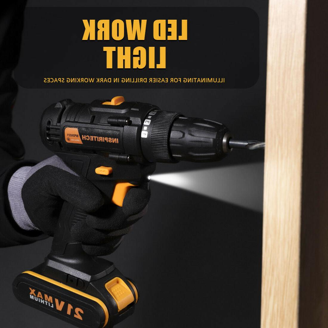 21 Speed Cordless with 2
