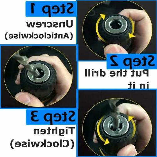 21-Volt Electric / Driver &