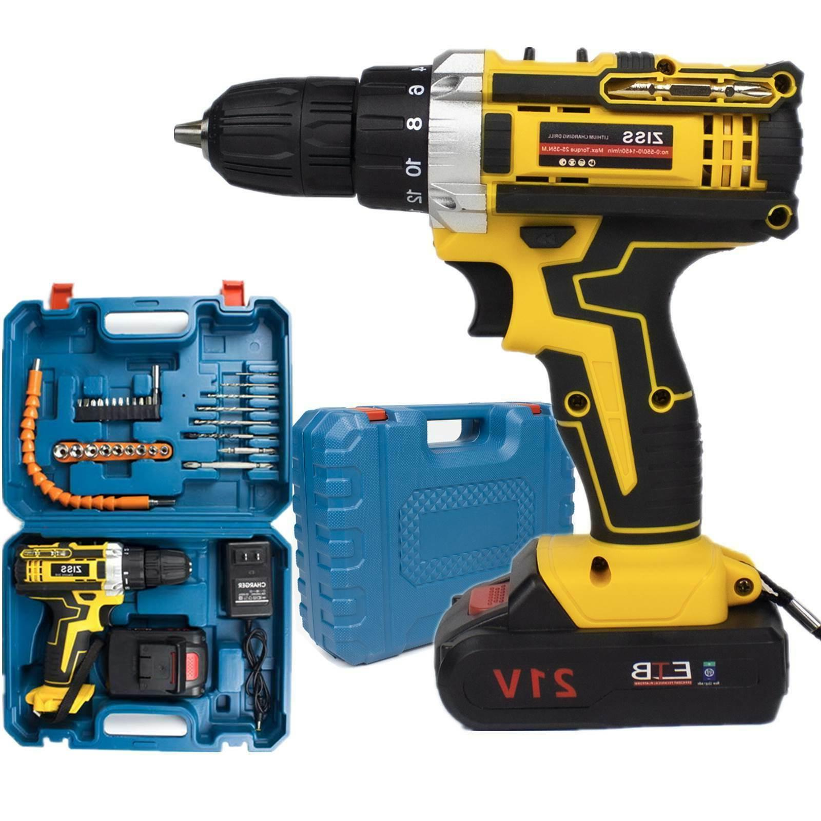 21v cordless drill electric screwdriver 30pcs drill