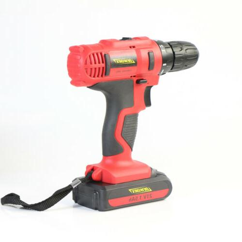 21V Drill Spare Li-Ion Charg DIY Tool Set
