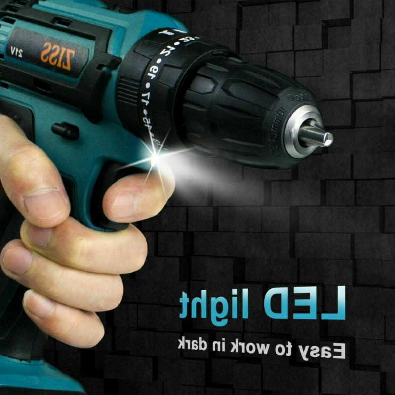 21V Cordless Impact Set 2-Speed with 6500mAh Lithium