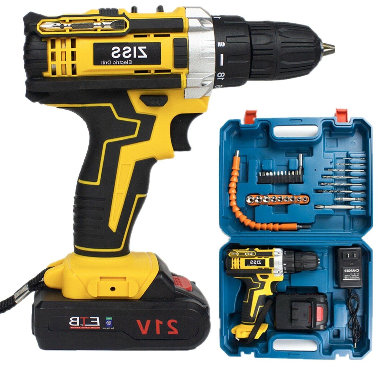21v electric drill cordless electric screwdriver drill