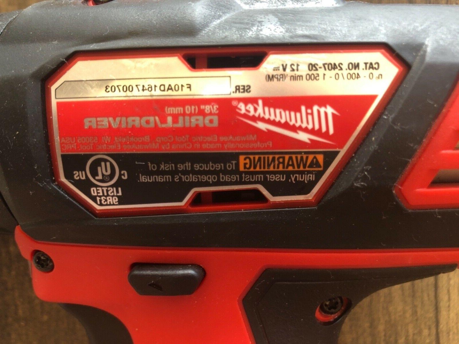 "Milwaukee 3/8"" Cordless tool only"