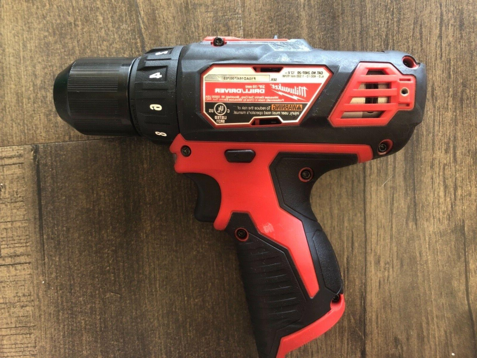 Milwaukee 2407-20 12V Cordless Driver tool only