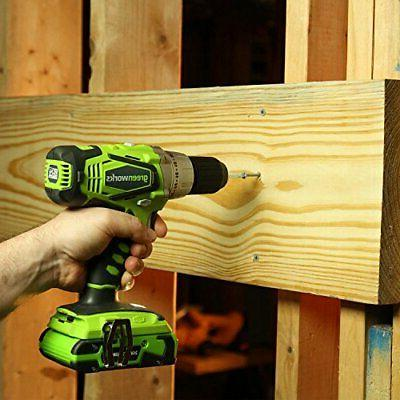 Greenworks 2-Speed Cordless Compact