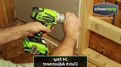 Greenworks 24V 2-Speed