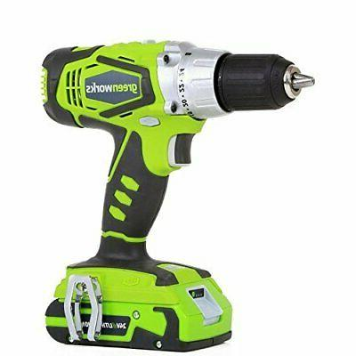 24v 2 speed cordless compact batteries included