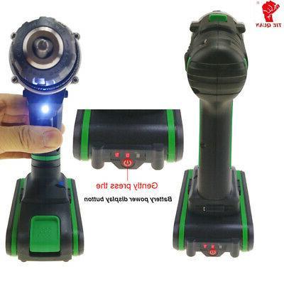 Power Drill/Driver bits set Li-Ion Battery